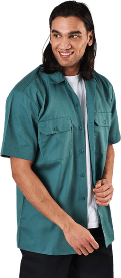 Short Sleeve Work Shirt Lincoln Green