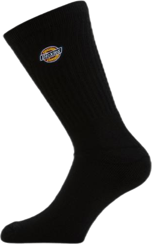 Valley Grove Embroidered Sock Black