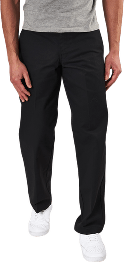 Slim Straight Work Pant Flex Black