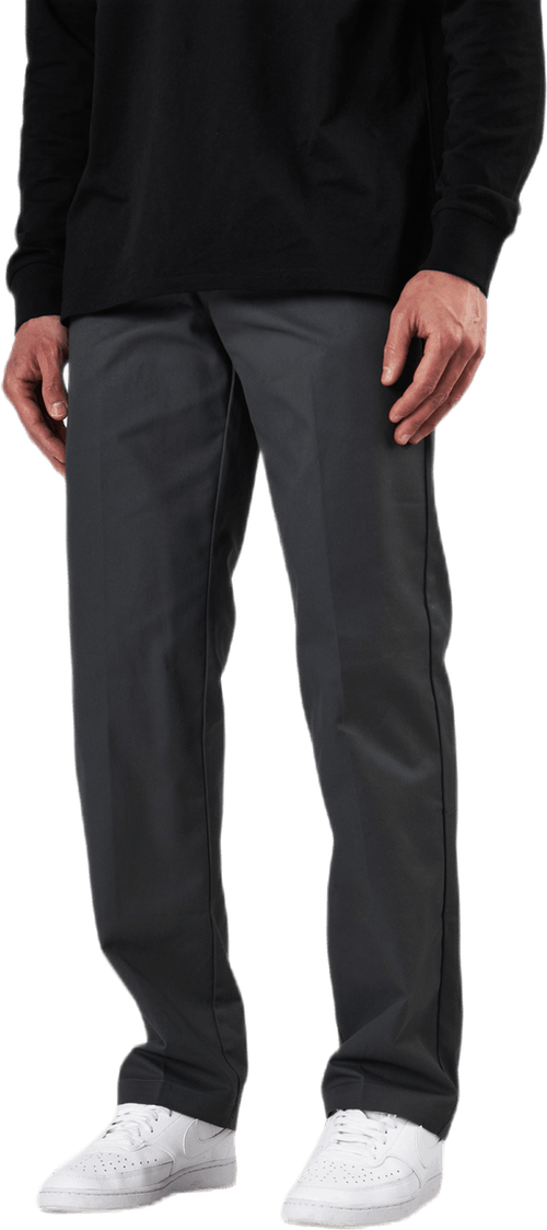 Slim Straight Work Pant Flex Charcoal Grey