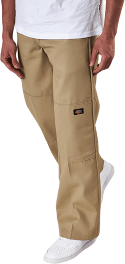 Double Knee Work Pant Khaki