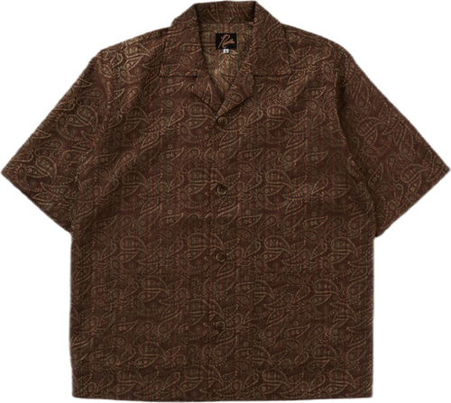 Cabana Shirt - Paisley Jq Brown