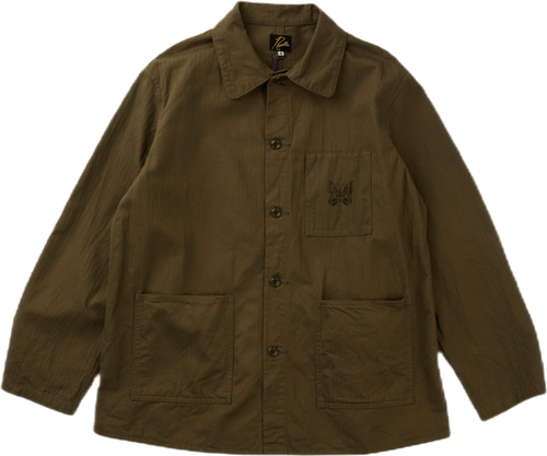 D.n. Coverall Jacket - Cotton  Olive