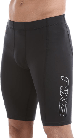 TR2 Compression Shorts Black/Silver