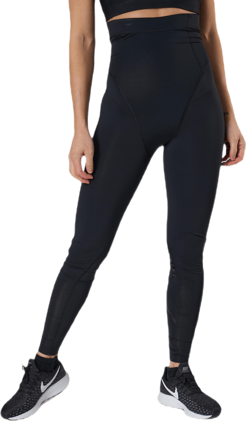 Postnatal Maternity Comp Tights Black