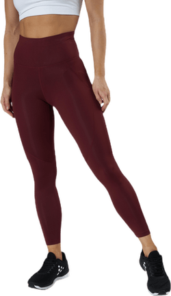 ADV Essence High Waist Tights Red