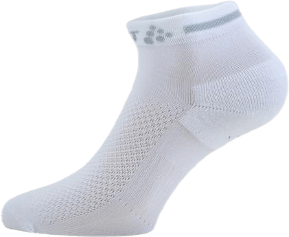 Core Dry Mid Sock 3-Pack White