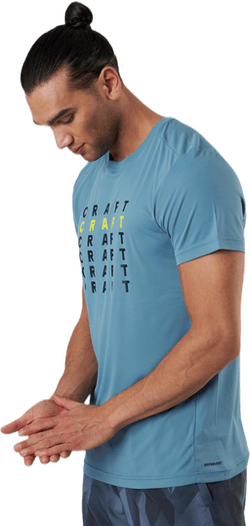 Core Charge SS Tee Blue