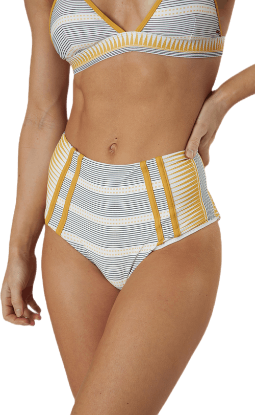 Salty Daze High Waisted Bottom Beige
