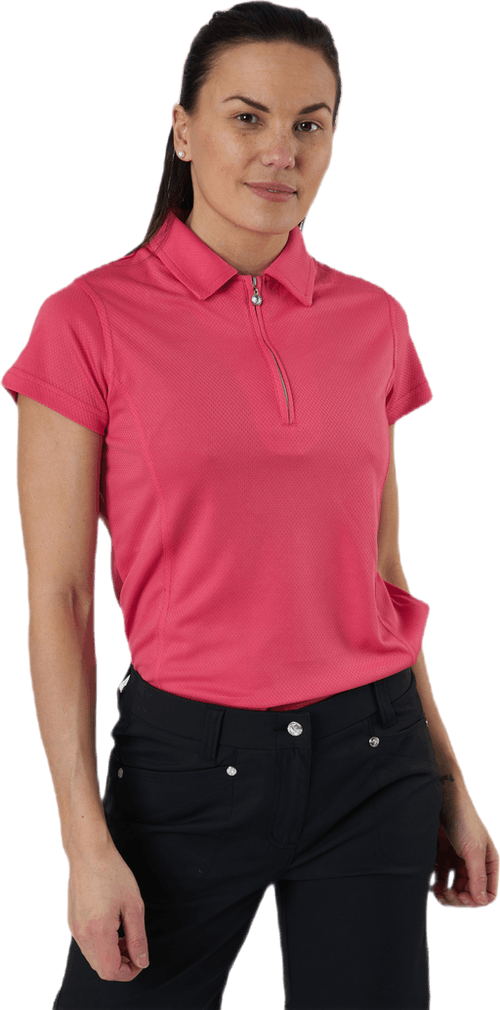 Macy Cap/S Polo Shirt Red