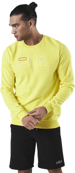 Liam Crew Sweat Yellow