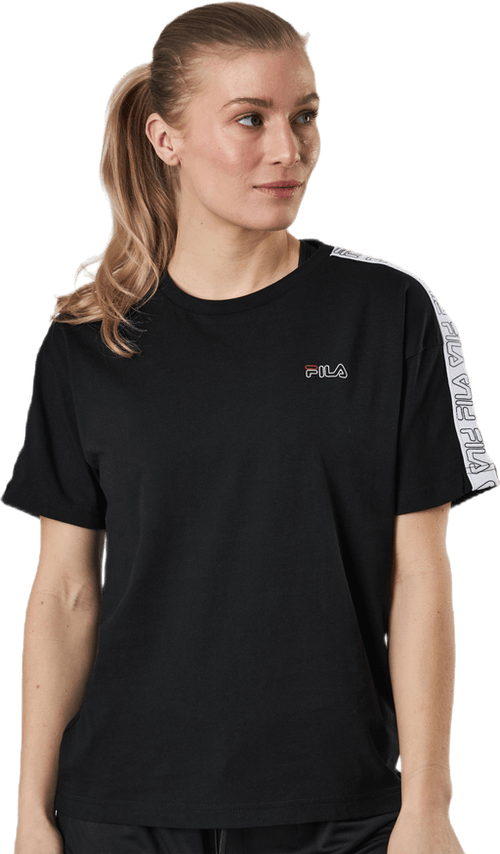 Jakena Taped Tee Black