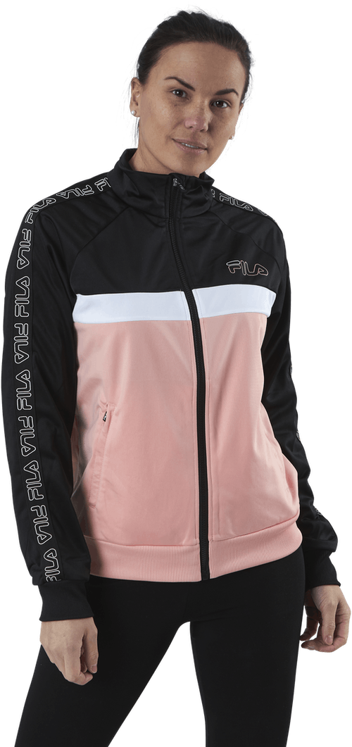 Jacoba Taped Track Jacket Pink