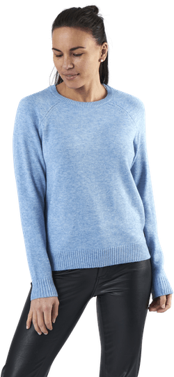 Lesly Kings L/S Pullover Knt Blue