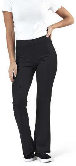 Toppy Mw Flared Pant Kac Black