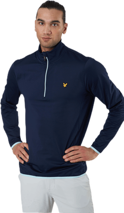 Tech 1/4 Zip Midlayer Blue