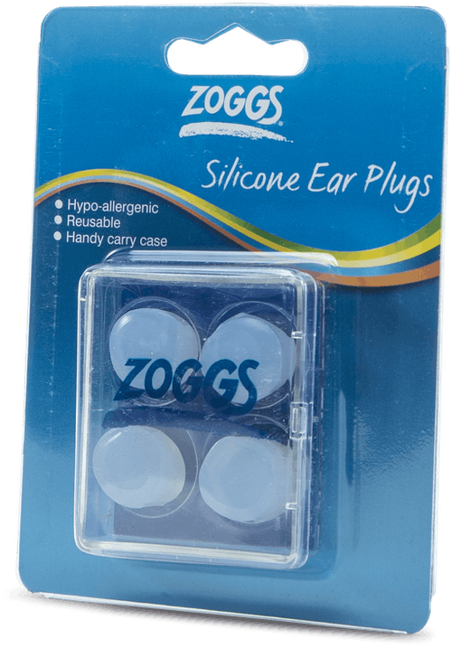 Silicone Ear Plugs (4 pcs) White