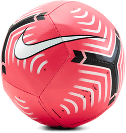 Premier League Pitch Soccer Ball Pink/White