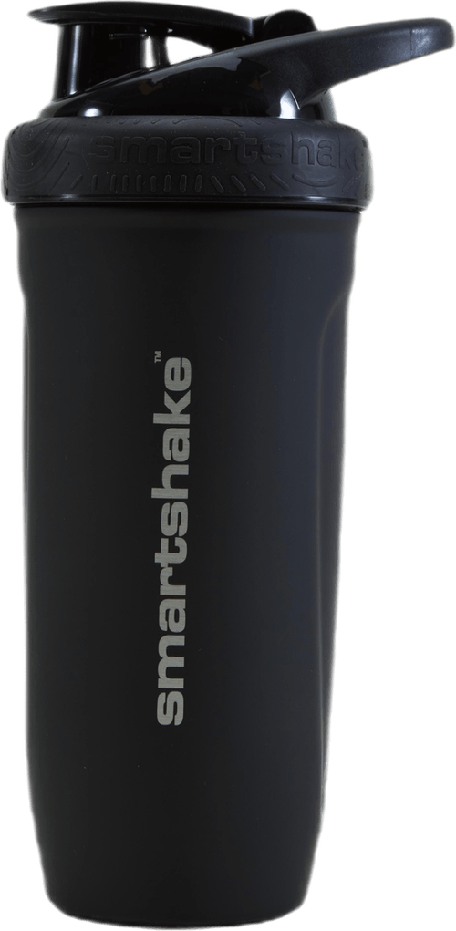 Reforce Stainless Steel Shaker 900ml Black