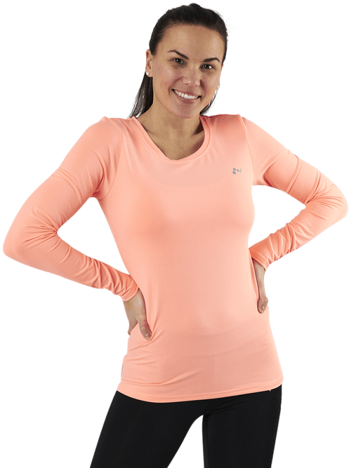 Clarisa Ls Training Tee Orange