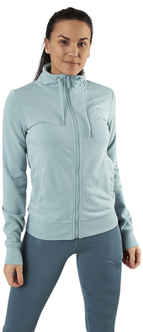 Elina High Neck Sweat Grey