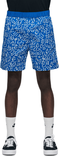 Steady Elastic Wb Shorts Blue