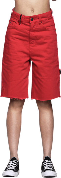 Cred Shorts Red