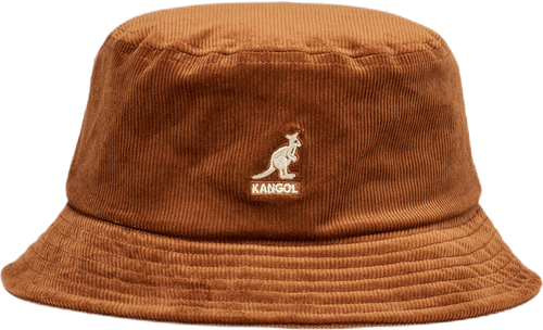 Cord Bucket Hat Brown