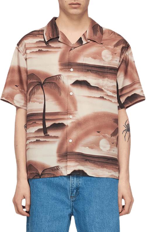 Island Shirt Brown