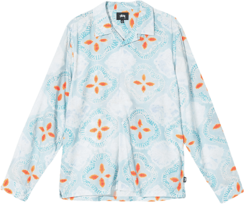Sonoma Dye Pattern Shirt Blue