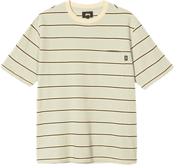 Peak Stripe Crewneck Green