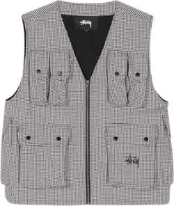 Houndstooth Work Vest Multi