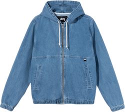 Denim Work Jacket Blue