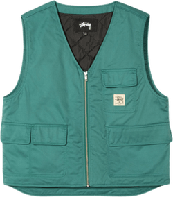 Insulated Work Vest Blue