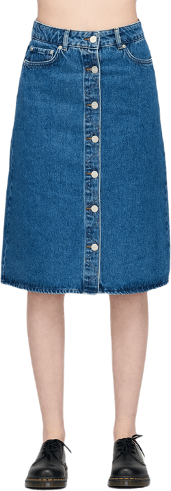 Grit Skirt Blue