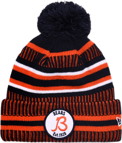 Chicago Bears Sport Knit Hat Blue