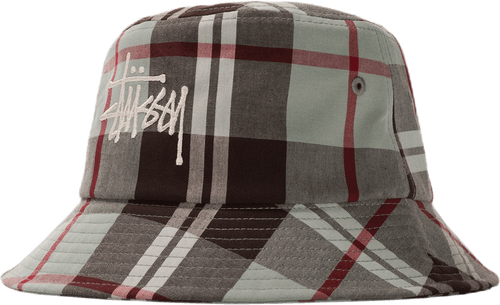 Big Logo Madra Bucket Hat Green
