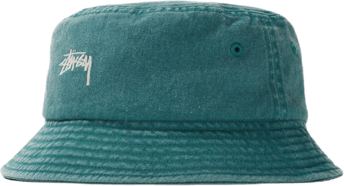 Stock Washed Bucket Hat Green