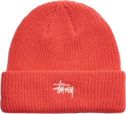 Basic Cuff Beanie Red