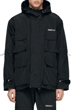 Explorer Track Jacket Black