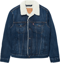 Type 3 Sherpa Trucker Jacket Blue