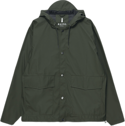Short Hooded Coat Green