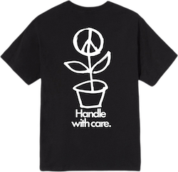 Peace Pot Tee Black