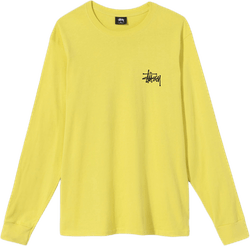 Basic Long Sleeve Tee Yellow