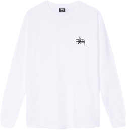 Basic Long Sleeve Tee White