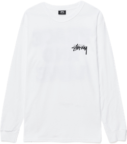 Peace & Love Longsleeve Tee White