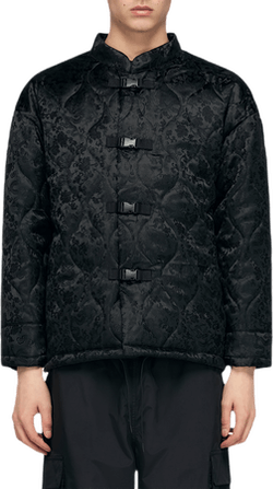 Future Quilt China Puff Jacket Black