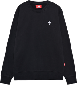 Sporty La Crewneck Black