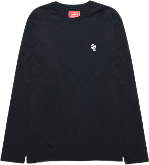 Palm Long Sleeve Tee Black