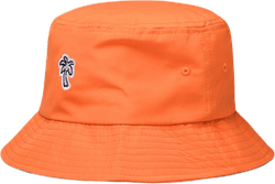 Palm Bucket Hat Orange